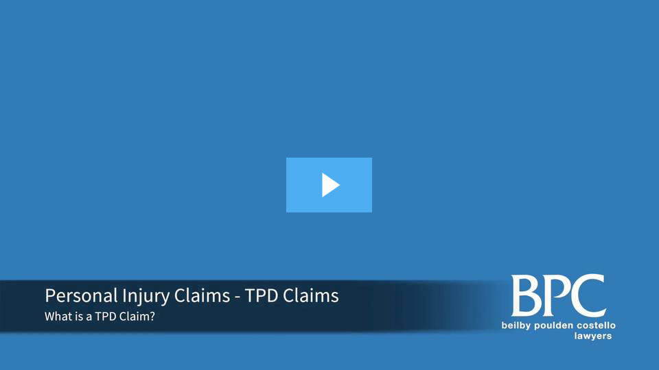 What is a tpd claim?