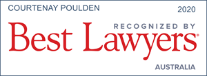Best Lawyers Courtenay Poulden