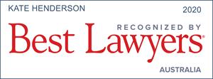 Kate Henderson Best Lawyers Australia