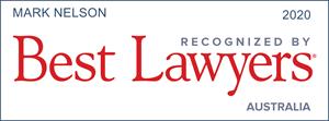 Mark Nelson Best Lawyers Australia