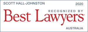 Scott Hall Johnson Best Lawyers Australia